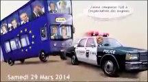 Conférence de François Asselineau à l'Université de Londres le 29 mars