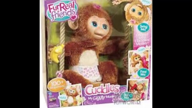 Cheap FurReal Friends Cuddles My Giggly Monkey Pet