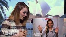 Emma Stone en pleurs après un message de Mel B des Spice girls!