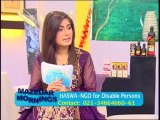 Mazedar Morning with yasmeen mirza on Indus Television 20-03-2014 Part 02