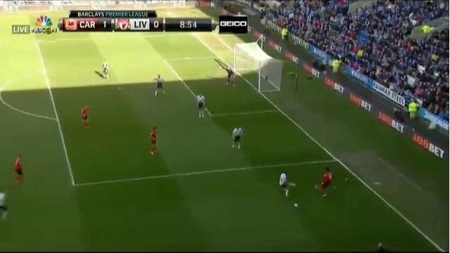 Mutch Goal ~ Cardiff City vs Liverpool 1-0 22/03/2014