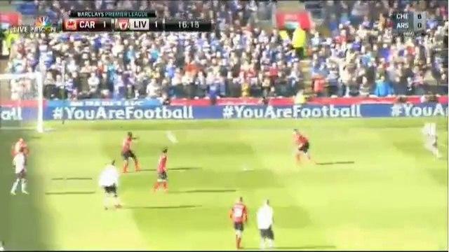 Suarez Goal ~ Cardiff City vs Liverpool 1-1 22/03/2014