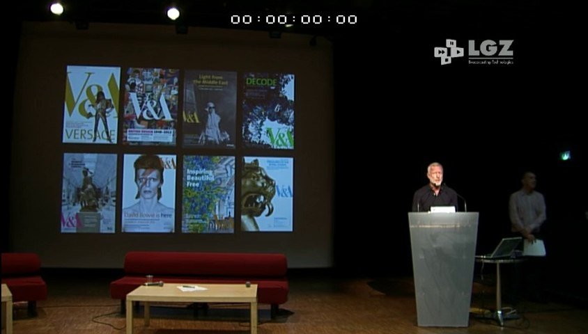 RNCI14 / Intervention de Damien Whitmore V&A Museum