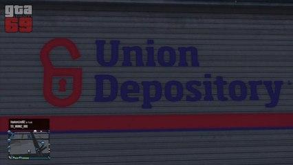 GTA Online - Wallbreach : sous-sol d'Union Depository