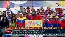 Nicolás Maduro reitera llamado al diálogo a estudiantes opositores