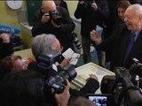 Municipales à Marseille: Jean-Claude Gaudin a voté - 23/03