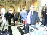 Municipales à Marseille: Patrick Mennucci a voté - 23/03
