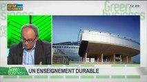 Un enseignement durable: Bernard Lemoult, dans Green Business – 23/03 2/4