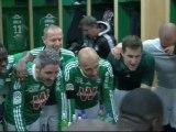 La joie des Verts après ASSE - Sochaux