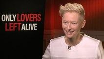 """Only Lovers Left Alive"" - Tilda Swinton Interview"