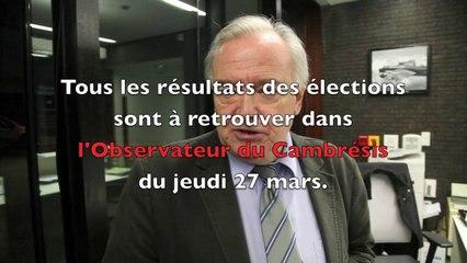 Daniel Delwarde et son équipe remportent les élections à Proville