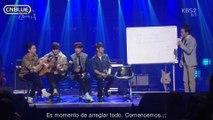 [Subs Español] CNBLUE en Yoo Hee Yeol's Sketchbook 2014