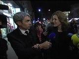 Municipales: NKM commente pour BFMTV les résultats en marchant dans la rue - 23/03