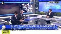 """Municipales : """"C'est un vote de colère"""", selon Jean-Pierre Raffarin"""