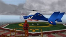 Eurocopter X3 de Jean-Pierre Baril - Test decollage et atterrissage