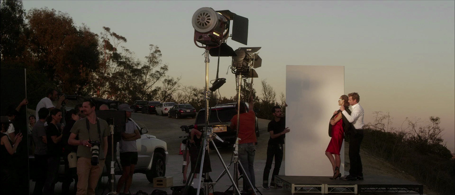 Le making of du shooting Gentlemen Only Intense de Givenchy