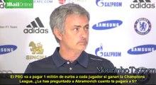 Mourinho hará una gran donación a la caridad si gana la Champions