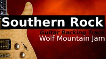 Southern Rock Backing Track for Guitar - Wolf Mountain Jam