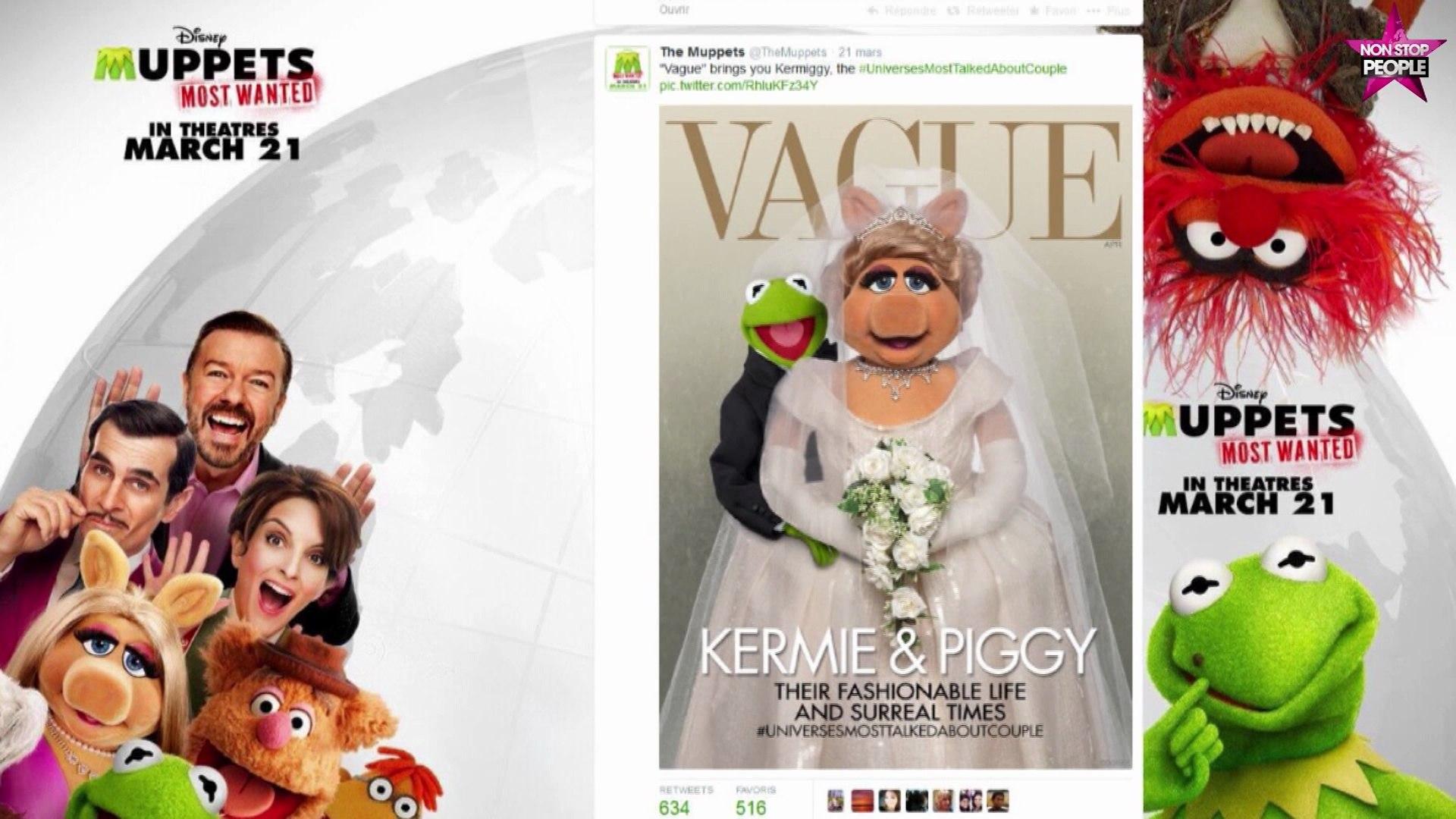 Kim Kardashian et Kanye West dans vogue parodiés