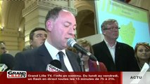 Municipales 2014 : Tourcoing - 1er Tour - Michel-François Delannoy (PS)
