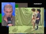 Parodie du coup de tête Zidane