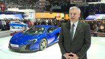 McLaren 650S at Geneva 2014 - Interview with Frank Stephenson, Design Director