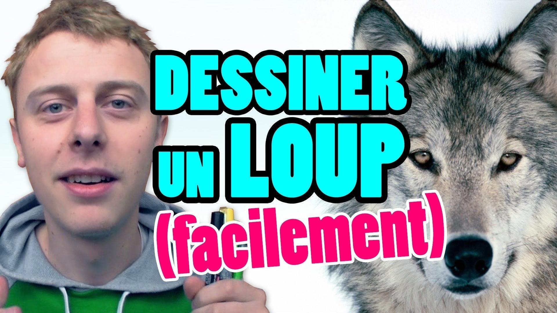 Petit Bonus Comment Dessiner Un Loup Facilement Norman Video Dailymotion