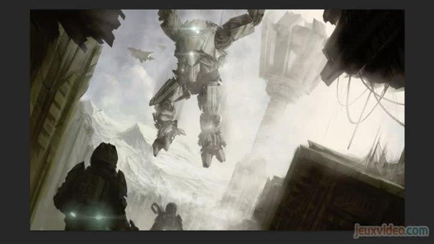 Draw in Game - Titanfall - Chute de titan