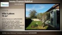 Vente - maison/villa - proche fresnay sur sarthe (61000)  - 75m²