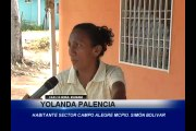 Deficiencias en servicios públicos del sector campo alegre del municipio Simón Bolívar