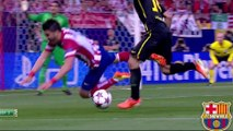 Atletico Madrid - Barcelona UCL Highlights HD 09.04.2014