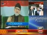 Dr. Tahir ul Qadri speech