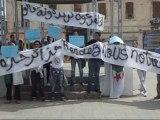 Rassemblement à Bouira. تجمع في مدينة البويرة