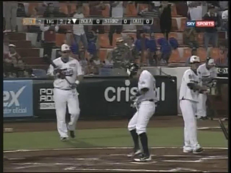 Home Run de Rolando Acosta de Tigres de Quintana Roo (10-04-2014)