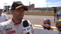 FIA WTCC - Lopez comments after his pole - Morocco 2014