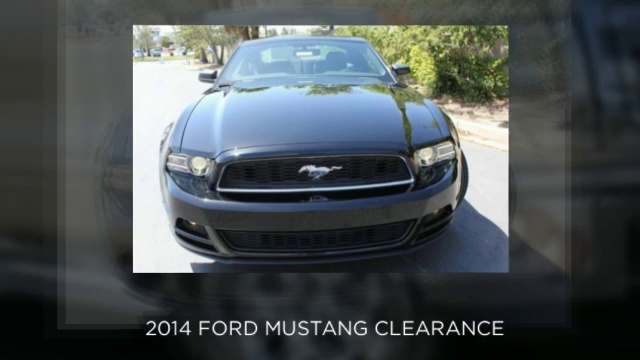 2013 Ford F-150 – 2013 Ford Fiesta – 2014 Ford Mustang CLEARANCE