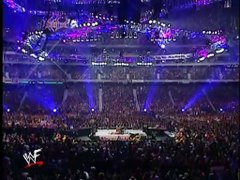 The Rock vs Hulk Hogan WrestleMania X8 2002