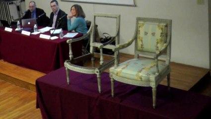 Rencontre des Gobelins / Peintures et dorures des sièges de Georges Jacob