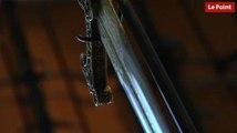 Les incroyables trésors de l'Histoire : l'épée d'apparat de François 1er portée lors de la défaite de Pavie.