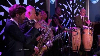 Sharon Jones & The Dap Kings Performs Making Up &Breaking-Up @Jimmy Kimmel