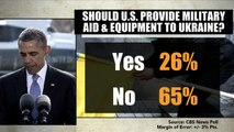 CBS News poll: Most Americans say U.S. should not intervene in Ukraine crisis