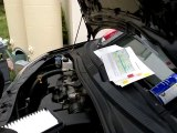 Mécanique auto - tuto - instructional - Remplacement du filtre à air moteur