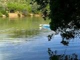 Sortie en canoë sur la rivière Kunene