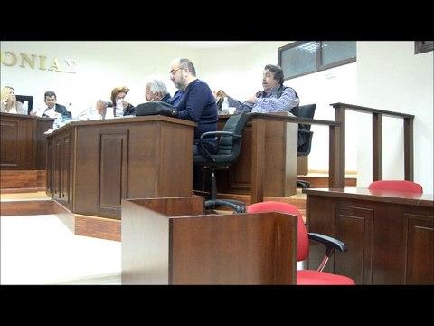 δημοτικό συμβούλιο με εντασεις και διαφωνίες