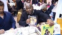 Rencontre avec Serge Diantantu, au Salon du livre de Paris avec le ministère des Outre-mer