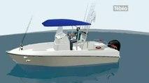 Le bateau amphibie bloqué par la règlementation (Brest)