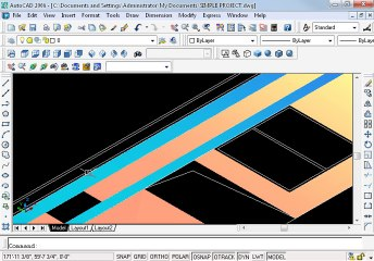 Simple project in AutoCAD Part 15 oh