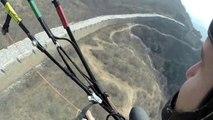 Saut en parachute de la Grande Muraille de Chine! Classe...