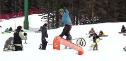 Volcom Stones Peanut Butter and Rail Jam at Lake Louise Stop #10