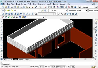 Simple project in AutoCAD Part 19 oh